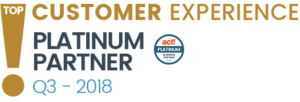 Act! Top Customer Experience Platinum Partner Award 2019