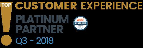 Act! Platinum Partner Top Customer Service Experience